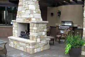 Free Standing Patio Cover Ideas Free Standing Patio Fireplaces Design Ideas Creative Fireplaces