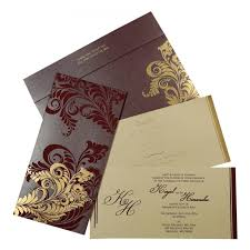 sle indian wedding invitations purple shimmery floral themed screen printed wedding invitations