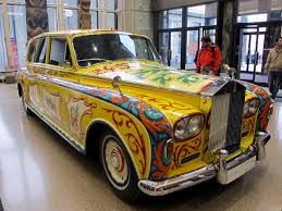 rolls rolls royce john lennon u0027s rolls royce returns to the royal bc museum in