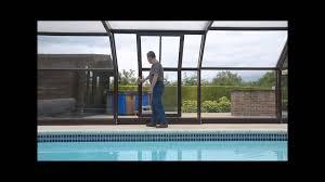 sliding door for summit leisure algarve pool enclosure youtube