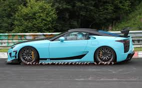 lexus lfa production years caught modified lexus lfa tester laps the u0027ring possible tokyo