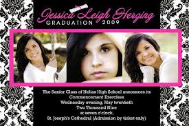 personalized graduation announcements senior graduation invitations plumegiant