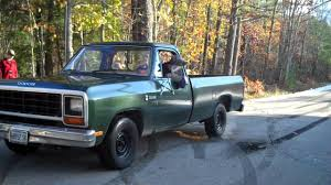 1985 dodge ram truck 1985 dodge burnout