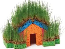 Goods Home Design Diy Diy Fun With Grass Seeds And Sponges Home Design Garden