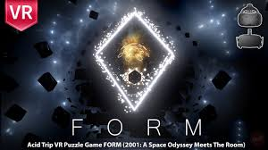 form incredible game with immersive beautiful surreal graphics