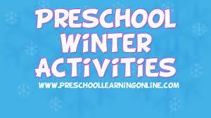 winter activities for pre k kids pre k science u0026 sensory ideas