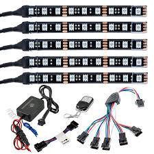 multi color led lighting kit weatherproof multi remote