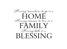 family quotes sayings on wall decals stickers home be warm home