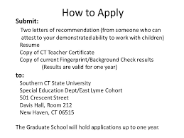 Working With Children Resume Welcome To Southern Connecticut State University In East Lyme