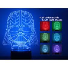 Lego Darth Vader Led Desk Lamp 3d Bulbing Star War Darth Vader Night 7 Color Change Led Desk