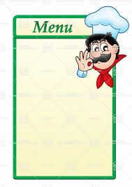 free menu templates printable free printable birthday card
