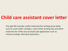 Child Care Assistant Job Description For Resume by Child Care Assistant Cover Letter 1 638 Jpg Cb U003d1394016321