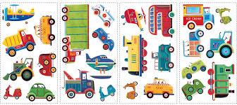 amazon com transportation wall decal cutouts 18
