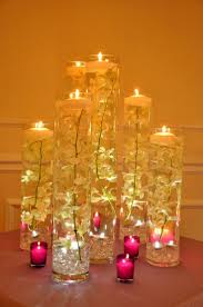 wedding centerpiece ideas candles decorating of party