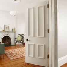 Hollow Interior Doors How To Dress Up A Hollow Door Grand Entrance Moldings And