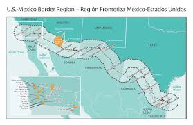 map us mexico border states map us mexico border states mexicodstedz thempfa org with usa and