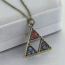 vintage crystal pendant necklace images Sc hot sale legend of zelda pendant necklace vintage crystal jpg