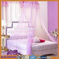yüksek kaliteli mor prenses sivrisinek ağ yatak örtüsü