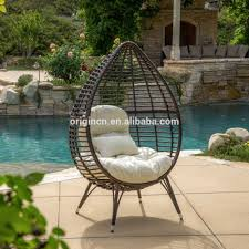 tropical bali style contemporary outdoor round sun lounge