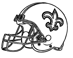nfl football helmet coloring pages helmet saints new orleans coloring pages football coloring pages