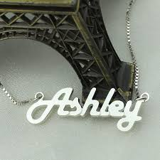s day jewelry for personalized sterling silver name necklace letter necklace retro