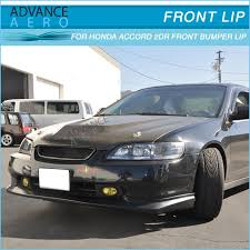 2001 honda accord front bumper for 98 00 honda accord 2 door coupe sport style front bumper lip