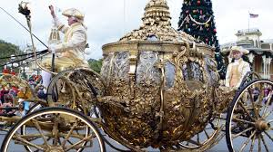 cinderella s coach cinderella s golden pumpkin coach royal pre parade at the