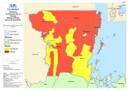Tanzania Map Tanzania September 2016 Mapaction