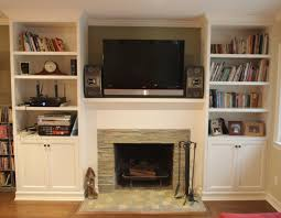 remodeled fireplace with stacked slate tile surround nott