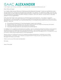 best training and development cover letter examples livecareer