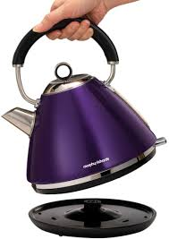 Morphy Richards Toasters And Kettles Morphy Richards 242022102020 Accents Toaster And Kettle Pack Plum