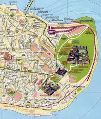 Istanbul On World Map by Istanbul Map Tourist Attractions New Zone