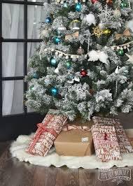fur christmas diy no sew faux fur christmas tree skirt hometalk