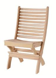 Patio Folding Chair Amish Wood Outdoor Folding Patio Chair From Dutchcrafters Amish