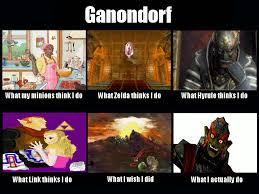 What People Think Meme - what people think i do meme ganondorf by rabnadskubla on deviantart