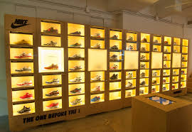 wall display check out this awesome nike air max wall display sneakernews com