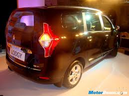 renault lodgy price renault lodgy rear motorbeam indian car bike news review price