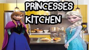 Princess Design Kitchens Frozen Princess Kitchen Frozen Cooking Game For Girls Hd Youtube
