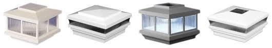 low voltage vinyl fence post lights outdoor low voltage lighting and solar lighting solutions