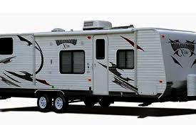 Travel Bunk Beds 28 U0027 Wildwood Travel Trailer Quad Bunk Beds U0026 Slide Out T18 Toy