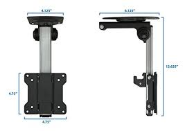 under cabinet mount tv for kitchen mount it mi 4211 tv ceiling mount kitchen under cabinet tv bracket