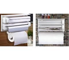distributeur de rouleaux de papier cuisine achetez distributeur de rouleaux avec montage mural 3 en 1
