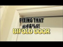 Fix Bifold Closet Door Fixing The Bifold Closet Door