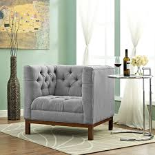 Linen Chesterfield Sofa by Alborg Petrie Style Sofa 84 5