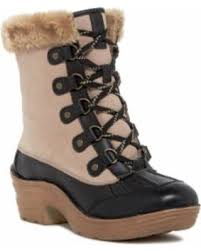 ugg emalie waterproof leather bootie nordstrom rack bargains on bionica rosemount faux fur lined boot at nordstrom rack