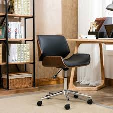 Office Chair Free Delivery Shop For Porthos Home Dove Wood And Faux Leather Office Chair Get