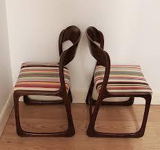 chaise traineau baumann chaise chaise baumann traineau fresh paire de chaises traineau des