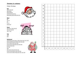 christmas co ordinates by nhktfc teaching resources tes