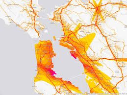 San Francisco Traffic Map by National Noise Map Charts Americans U0027 Aural Misery Wired