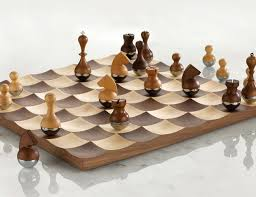 wobble chess set by umbra gadget flow